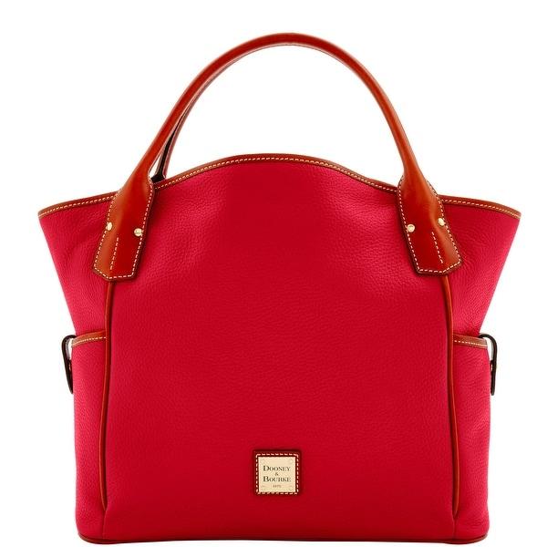 Dooney & Bourke Pebble Grain Kristen Tote (Introduced by Dooney & Bourke at $348 in Sep 2016) - Crimson