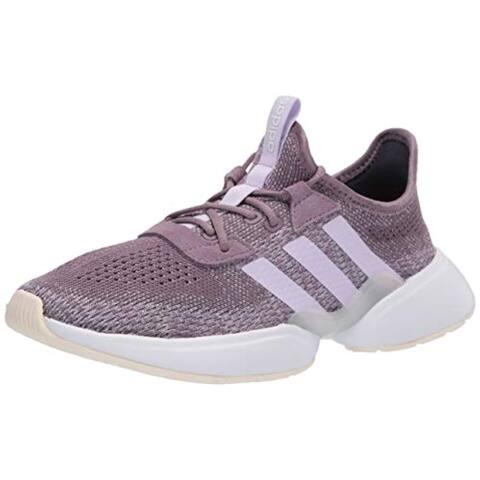 adidas Women's Mavia X Sneaker, Legacy Purple/Purple Tint/FTWR White, 11 M US