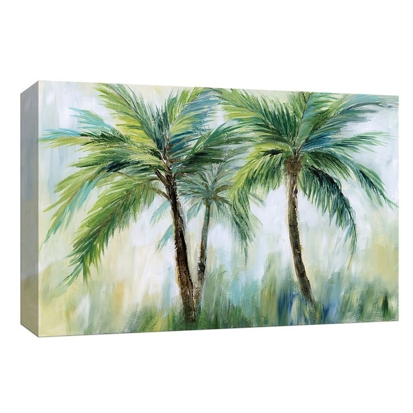 "PTM Images 9-148414 PTM Canvas Collection 8"" x 10"" - ""Palm Sensation"" Giclee Palm Trees Art Print on Canvas"