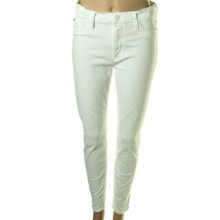 Hudson Womens Denim Stretch Colored Skinny Jeans - 29