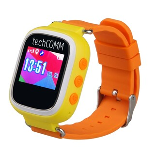 TechComm TD-03 Kids Smart Watch with GPS and Sleep Monitor for T-Mobile ONLY (Option: Yellow)