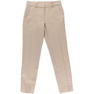 DKNY Womens Wool Narrow Dress Pants - 0