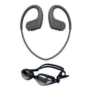 Sony NWWS623/B Waterproof and Dustproof Walkman with Bluetooth Bundle