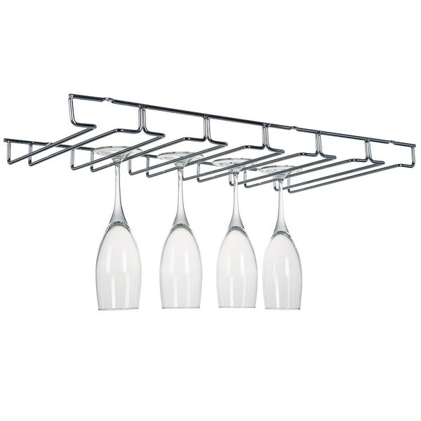 """Kitchen Details Stemware Drying Rack - 22.4""""x 10""""x 1.5"""". Opens flyout."""