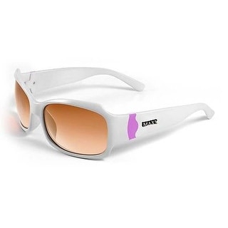 77ae40fbdb2 Shop Bombshell Adult Ladies Sun Glasses Frame Color  White to Pink - Free  Shipping On Orders Over  45 - Overstock.com - 15339075