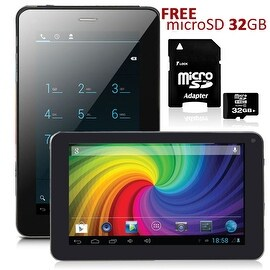Indigi® 7.0inch 2-in-1 SmartPhone and TabletPC Dual-Core 2Sim Android 4.2 + WiFi + Google Play Store + 32gb microSD Included