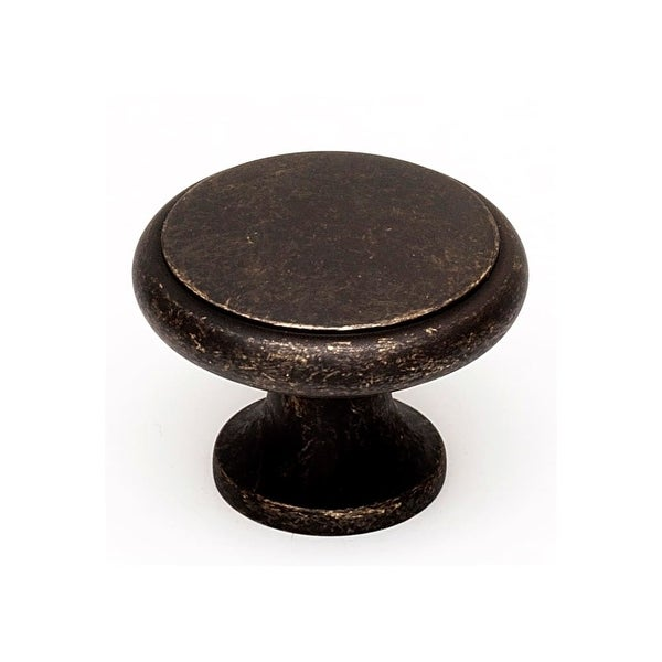 "Alno A1164 1-1/4"" Diameter Mushroom Cabinet Knob"