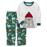 160699e2a55b Shop Carter s Baby Boys  2-Piece Bear Fleece PJs