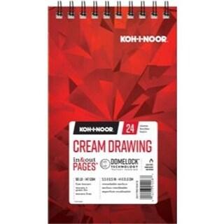 Koh - I - Noor K26170210412 5.5 x 8.5 in. Cream Drawing Paper