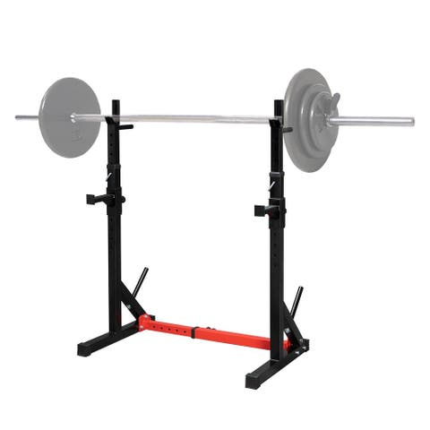 Multi-Function Barbell Rack Squat Stand, 500lbs Max Load