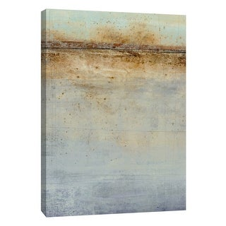 """PTM Images 9-105381  PTM Canvas Collection 10"""" x 8"""" - """"Prophecy of the Horizon 1"""" Giclee Abstract Art Print on Canvas"""