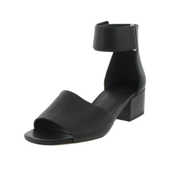 Vince Womens Rosalia Heels Casual Block Heel - 7 medium (b,m)
