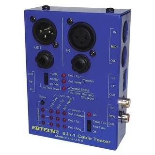 Ebtech 6-in-1 Cable Tester