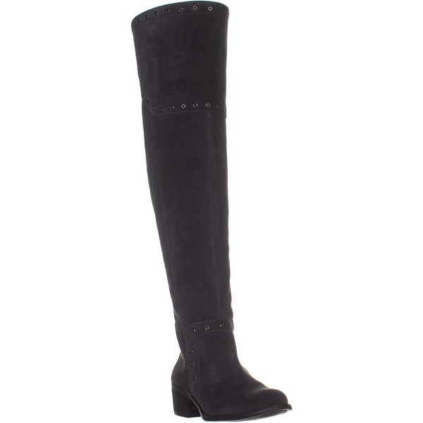 819497e0fb5 Shop Vince Camuto Bestan Studded Over The Knee Boots, Granite Peak ...
