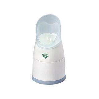 Vicks V1300 Portable Steam Inhaler & Humidifier - White