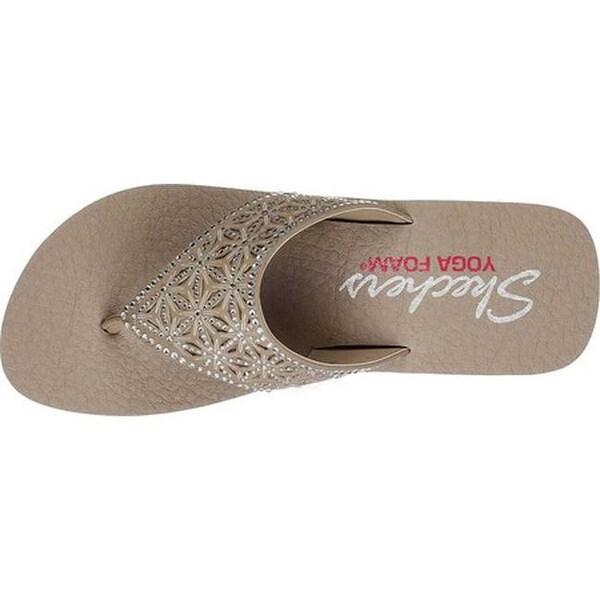 Vinyasa Glass Star Thong Sandal Taupe