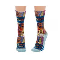 Five Nights at Freddy's Juniors Sublimated Crew Socks