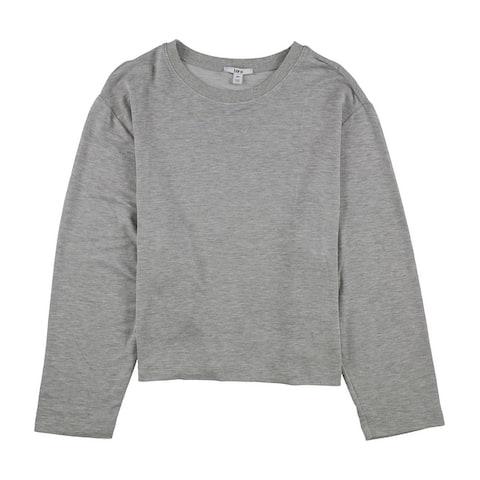 Bar Iii Womens Cropped Sweatshirt