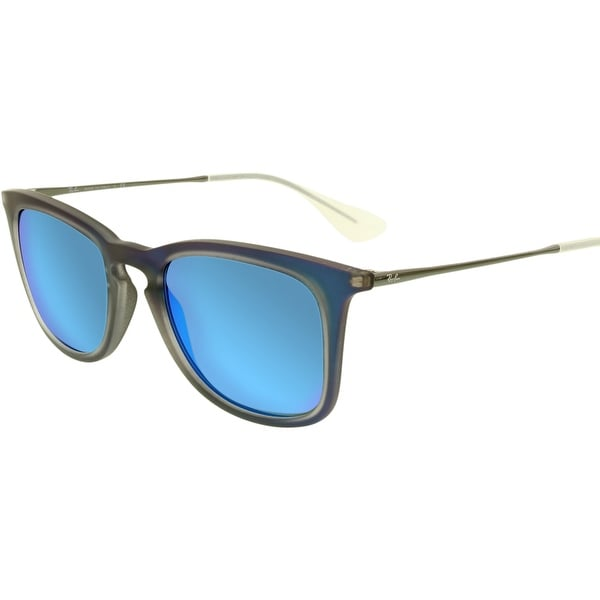 fd3c4defdf Shop Ray-Ban Men s Mirrored RB4221 RB4221-617055-50 Blue Square ...
