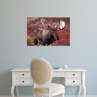 Easy Art Prints Hugh Rose's 'Moose' Premium Canvas Art
