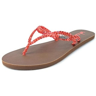 Volcom Party Open Toe Synthetic Thong Sandal