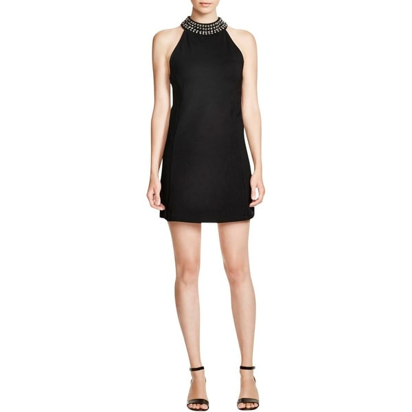 Sanctuary Womens Casino Clubwear Dress Embellished Halter