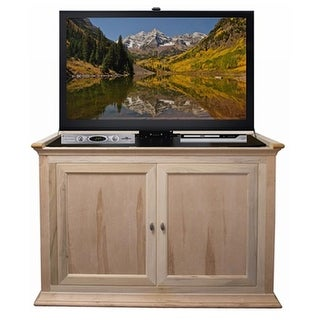 Hartford Unfinished Wood TV Lift Cabinet - Up To 46 in. Flat Screen