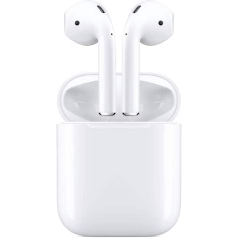 Apple - AirPods with Charging Case (2nd Generation) - White