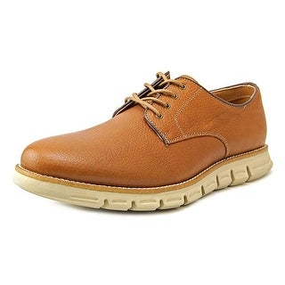 GBX Hart Men Round Toe Leather Tan Oxford