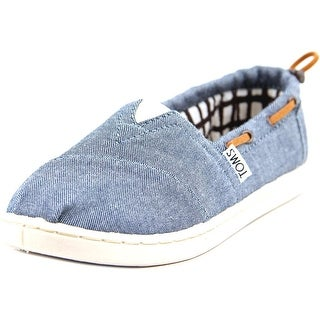 Toms Bimini Tiny Moc Toe Canvas Boat Shoe