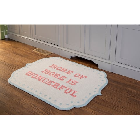 Madcap Cottage by Momeni Get Smart Bookish Charms Area Rug - 3' X 4'