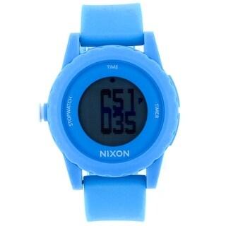 Nixon Men's Genie A326-917 Black Dial Watch