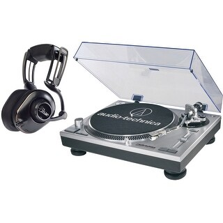 Blue Microphones MO-FI Powered Headphones w/ Audio Technica USB Turntable