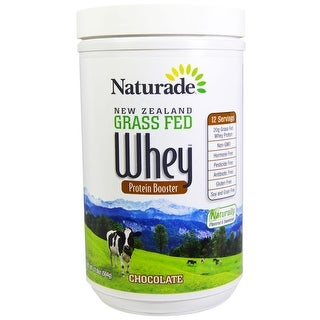 Naturade Whey Protein Grass Fed Chocolate 17.8-ounce