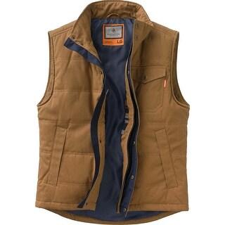 Legendary Whitetails Mens Bison Canvas Vest