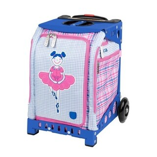 Zuca Mini Ballerina Bag (for Children) & Blue Frame w Built-In Seat & Snack Pouch