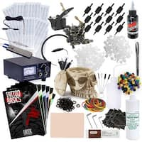 Tattoo Kit - 2 Machine Skull Set with Millennium Mom's Ink