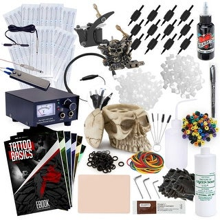 Tattoo Kit 2 Machine Skull Set with Millennium Mom's Ink