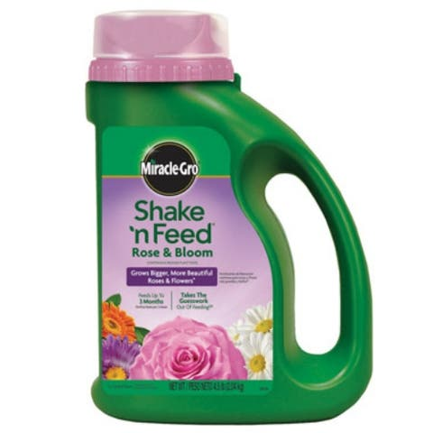 Miracle Gro 110568 Shake 'N Feed Bloom Booster, 4.5 Lbs