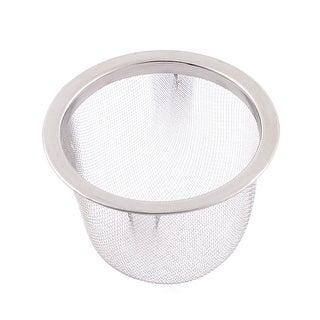 "2.5"" Dia Stainless Steel Mesh Strainer Basket Tea Infuser"