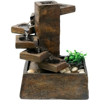 Alpine TT8000 Pouring Water On Step Stone Fountain With Pump|https://ak1.ostkcdn.com/images/products/is/images/direct/1b9b988fb5544b9b7ac2ff5c22501a79df947cc6/Alpine-TT8000-Pouring-Water-On-Step-Stone-Fountain-With-Pump.jpg?impolicy=medium