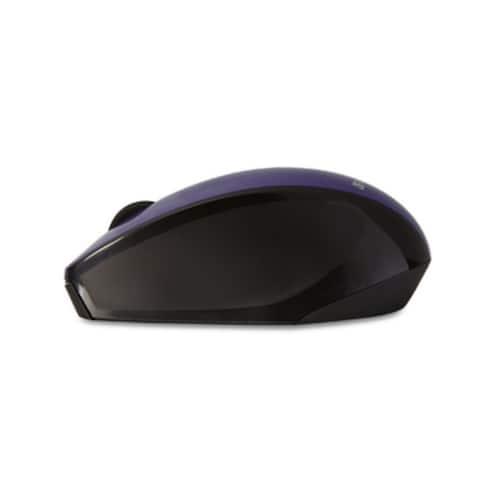 Verbatim Wireless Multi-Trac LED Optical Mouse, 97994, Purple