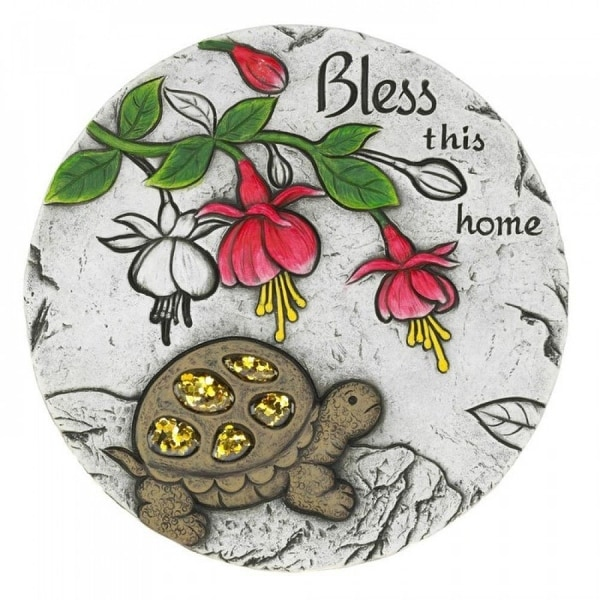 Bless This Home Turtle Stepping Stone