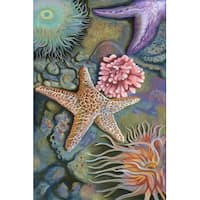 Tidepool Scene - LP Artwork (100% Cotton Towel Absorbent)