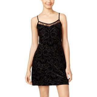 As U Wish Womens Juniors Clubwear Dress Velvet Printed