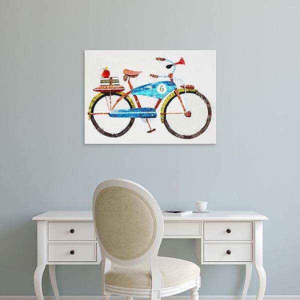 Easy Art Prints Anthony Grant's 'Bike No. 6' Premium Canvas Art