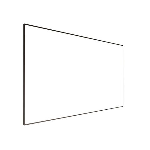 Monoprice 4K Fixed Frame Projection Screen 106 Inch ISF, Ultra HD, 16:9, No Logo