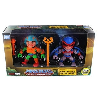 "Masters of the Universe 3.2"" Action Vinyl 2-Pack: Stratos + Man-At- Arms (Original Toy Color Variants) - multi"