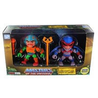 """Masters of the Universe 3.2"""" Action Vinyl 2-Pack: Stratos + Man-At- Arms (Original Toy Color Variants) - multi"""