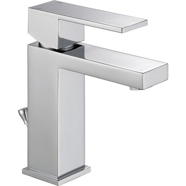 Delta 567LF-MPU-PP Modern 1.2 GPM Single Hole Bathroom Faucet with Single Handle - Chrome